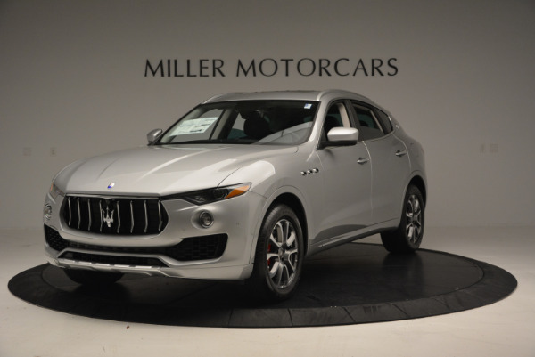New 2017 Maserati Levante 350hp for sale Sold at Rolls-Royce Motor Cars Greenwich in Greenwich CT 06830 1