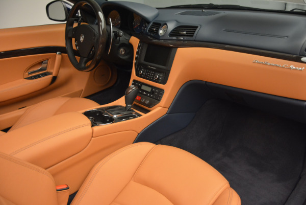 New 2017 Maserati GranTurismo Sport for sale Sold at Rolls-Royce Motor Cars Greenwich in Greenwich CT 06830 26