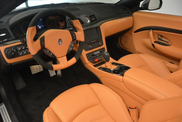 New 2017 Maserati GranTurismo MC CONVERTIBLE for sale Sold at Rolls-Royce Motor Cars Greenwich in Greenwich CT 06830 21