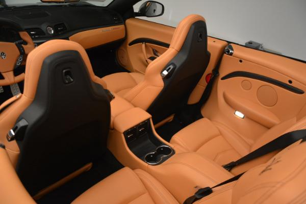 New 2017 Maserati GranTurismo MC CONVERTIBLE for sale Sold at Rolls-Royce Motor Cars Greenwich in Greenwich CT 06830 24