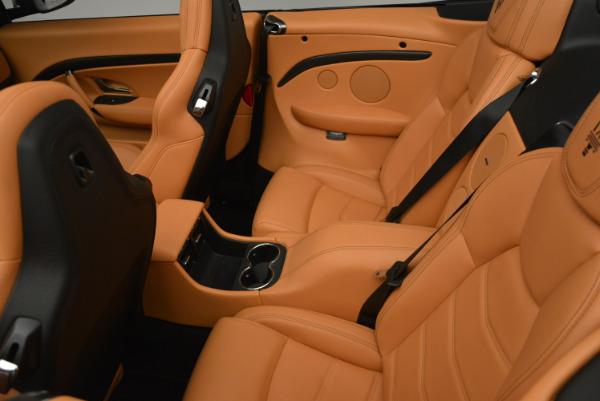 New 2017 Maserati GranTurismo MC CONVERTIBLE for sale Sold at Rolls-Royce Motor Cars Greenwich in Greenwich CT 06830 25