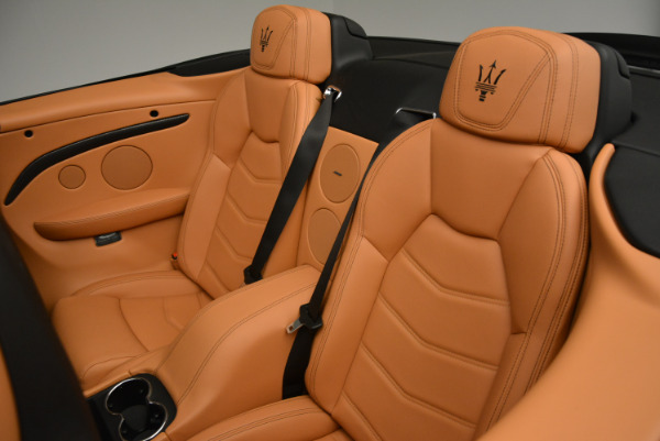New 2017 Maserati GranTurismo MC CONVERTIBLE for sale Sold at Rolls-Royce Motor Cars Greenwich in Greenwich CT 06830 26
