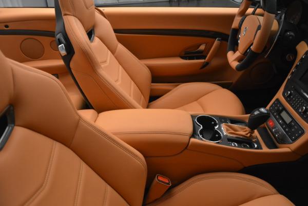 New 2017 Maserati GranTurismo MC CONVERTIBLE for sale Sold at Rolls-Royce Motor Cars Greenwich in Greenwich CT 06830 28