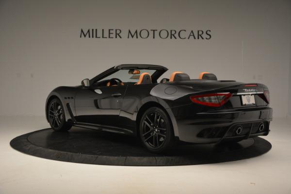 New 2017 Maserati GranTurismo MC CONVERTIBLE for sale Sold at Rolls-Royce Motor Cars Greenwich in Greenwich CT 06830 5