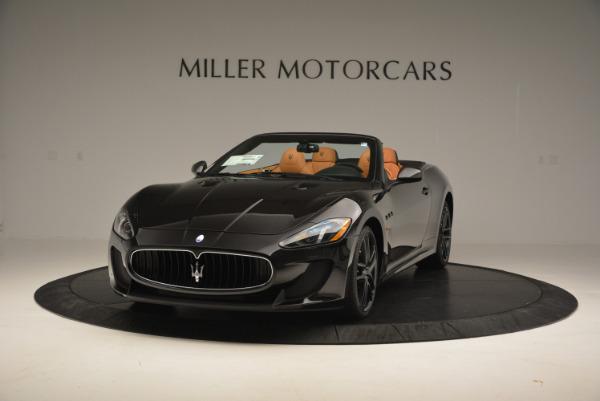 New 2017 Maserati GranTurismo MC CONVERTIBLE for sale Sold at Rolls-Royce Motor Cars Greenwich in Greenwich CT 06830 1