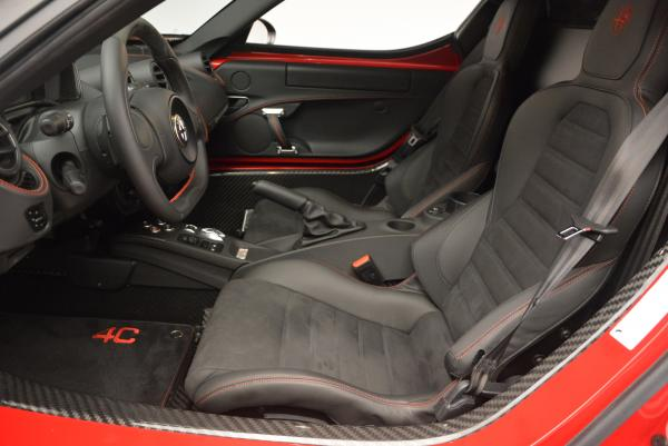 Used 2015 Alfa Romeo 4C Launch Edition for sale Sold at Rolls-Royce Motor Cars Greenwich in Greenwich CT 06830 14