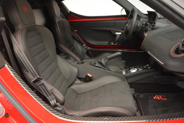 Used 2015 Alfa Romeo 4C Launch Edition for sale Sold at Rolls-Royce Motor Cars Greenwich in Greenwich CT 06830 18