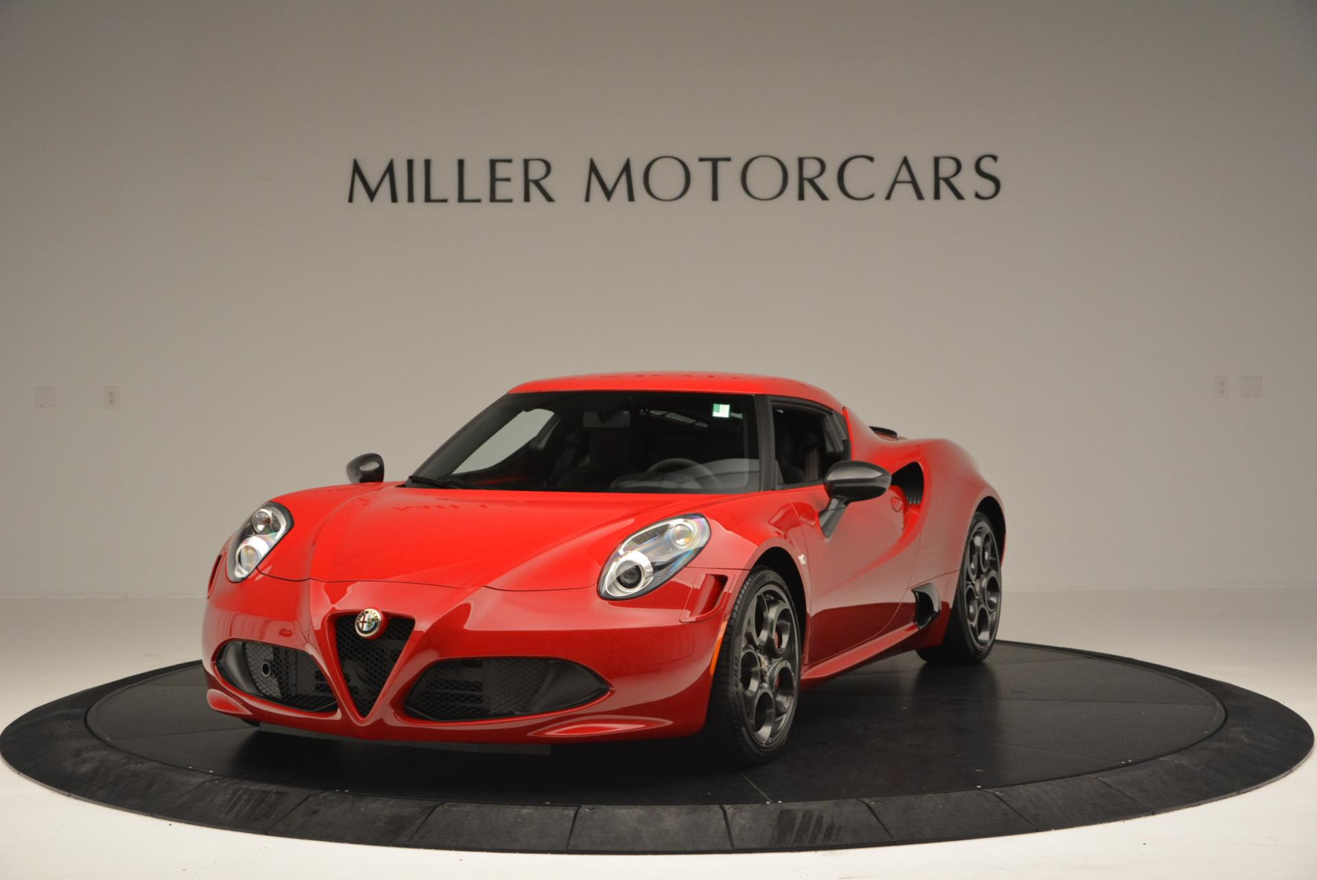 Used 2015 Alfa Romeo 4C Launch Edition for sale Sold at Rolls-Royce Motor Cars Greenwich in Greenwich CT 06830 1