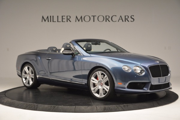 Used 2014 Bentley Continental GT V8 S Convertible for sale Sold at Rolls-Royce Motor Cars Greenwich in Greenwich CT 06830 10