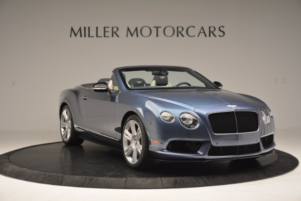 Used 2014 Bentley Continental GT V8 S Convertible for sale Sold at Rolls-Royce Motor Cars Greenwich in Greenwich CT 06830 11
