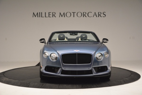 Used 2014 Bentley Continental GT V8 S Convertible for sale Sold at Rolls-Royce Motor Cars Greenwich in Greenwich CT 06830 12