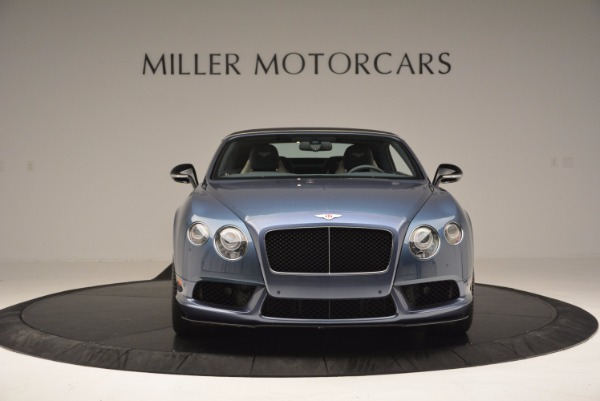 Used 2014 Bentley Continental GT V8 S Convertible for sale Sold at Rolls-Royce Motor Cars Greenwich in Greenwich CT 06830 13