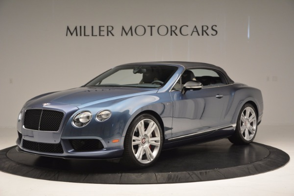Used 2014 Bentley Continental GT V8 S Convertible for sale Sold at Rolls-Royce Motor Cars Greenwich in Greenwich CT 06830 14