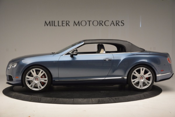 Used 2014 Bentley Continental GT V8 S Convertible for sale Sold at Rolls-Royce Motor Cars Greenwich in Greenwich CT 06830 15