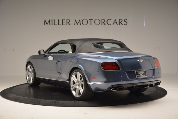 Used 2014 Bentley Continental GT V8 S Convertible for sale Sold at Rolls-Royce Motor Cars Greenwich in Greenwich CT 06830 16
