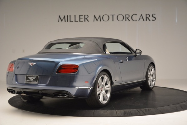 Used 2014 Bentley Continental GT V8 S Convertible for sale Sold at Rolls-Royce Motor Cars Greenwich in Greenwich CT 06830 18