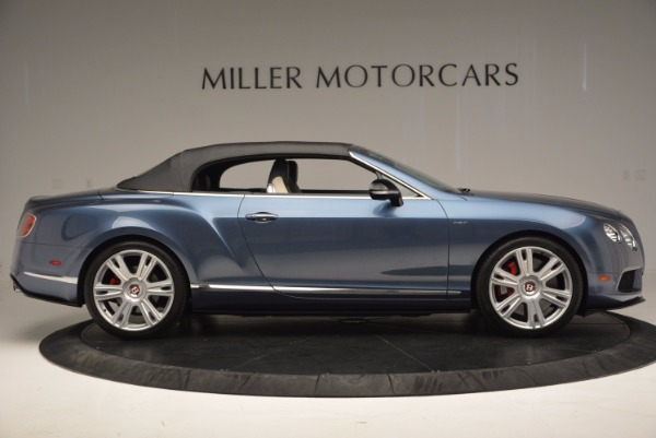 Used 2014 Bentley Continental GT V8 S Convertible for sale Sold at Rolls-Royce Motor Cars Greenwich in Greenwich CT 06830 19