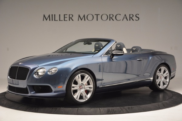 Used 2014 Bentley Continental GT V8 S Convertible for sale Sold at Rolls-Royce Motor Cars Greenwich in Greenwich CT 06830 2