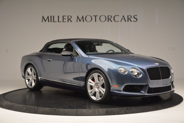 Used 2014 Bentley Continental GT V8 S Convertible for sale Sold at Rolls-Royce Motor Cars Greenwich in Greenwich CT 06830 20
