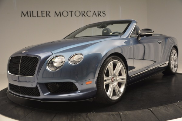 Used 2014 Bentley Continental GT V8 S Convertible for sale Sold at Rolls-Royce Motor Cars Greenwich in Greenwich CT 06830 24