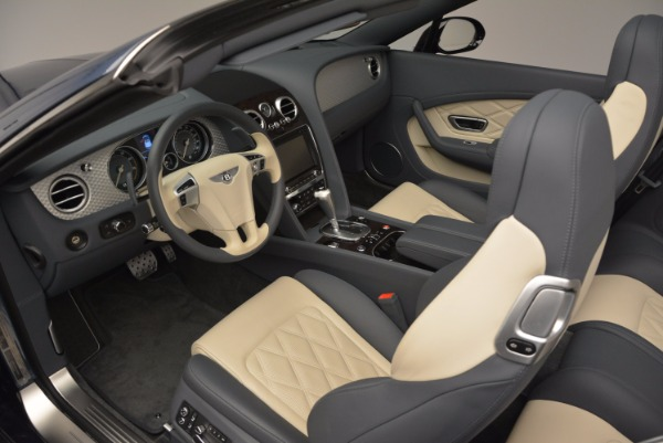 Used 2014 Bentley Continental GT V8 S Convertible for sale Sold at Rolls-Royce Motor Cars Greenwich in Greenwich CT 06830 28