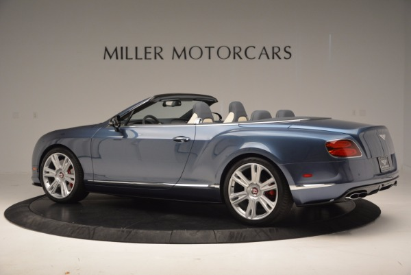 Used 2014 Bentley Continental GT V8 S Convertible for sale Sold at Rolls-Royce Motor Cars Greenwich in Greenwich CT 06830 4