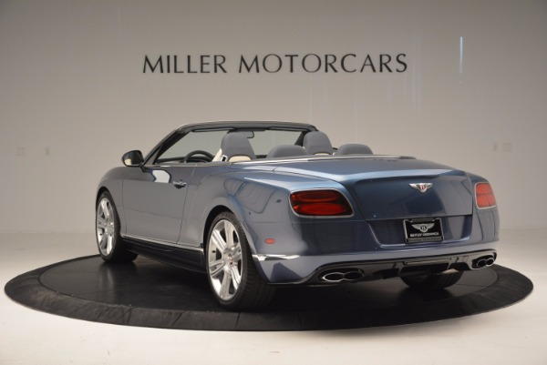 Used 2014 Bentley Continental GT V8 S Convertible for sale Sold at Rolls-Royce Motor Cars Greenwich in Greenwich CT 06830 5