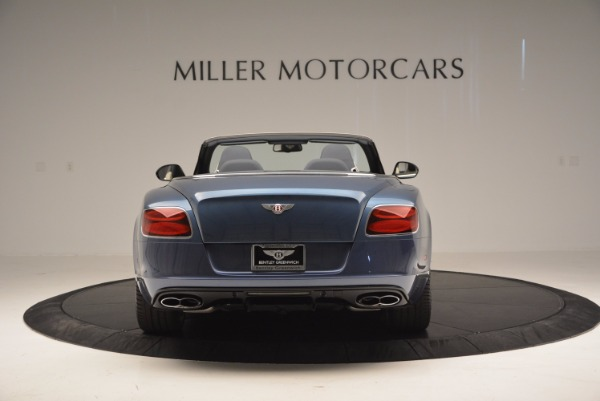 Used 2014 Bentley Continental GT V8 S Convertible for sale Sold at Rolls-Royce Motor Cars Greenwich in Greenwich CT 06830 6