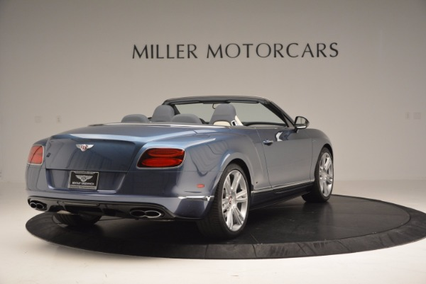 Used 2014 Bentley Continental GT V8 S Convertible for sale Sold at Rolls-Royce Motor Cars Greenwich in Greenwich CT 06830 7