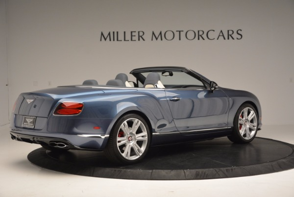 Used 2014 Bentley Continental GT V8 S Convertible for sale Sold at Rolls-Royce Motor Cars Greenwich in Greenwich CT 06830 8