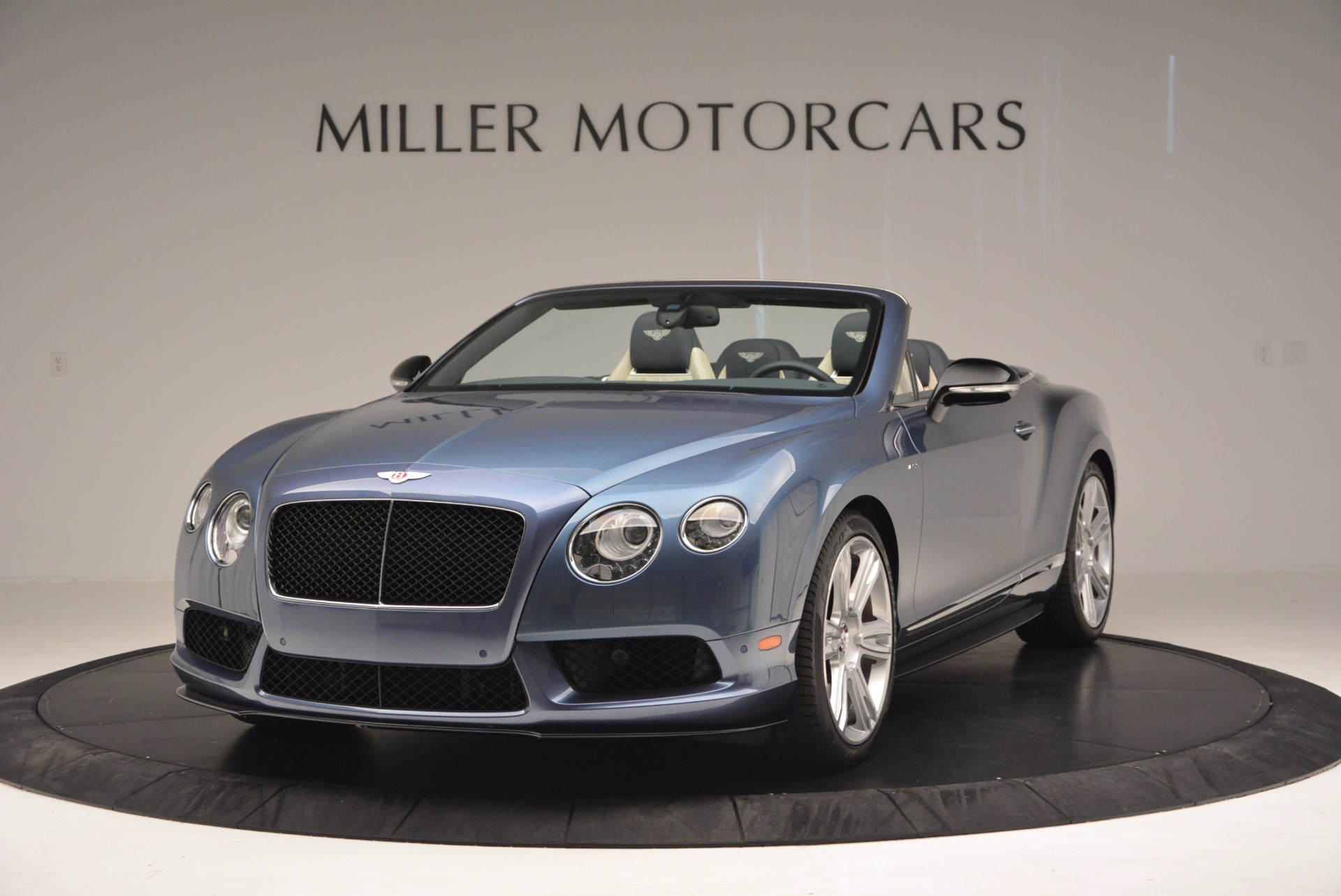 Used 2014 Bentley Continental GT V8 S Convertible for sale Sold at Rolls-Royce Motor Cars Greenwich in Greenwich CT 06830 1