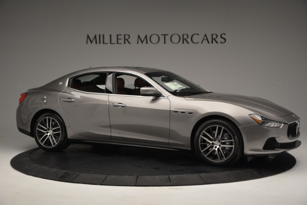 Used 2017 Maserati Ghibli S Q4 EX-LOANER for sale Sold at Rolls-Royce Motor Cars Greenwich in Greenwich CT 06830 10