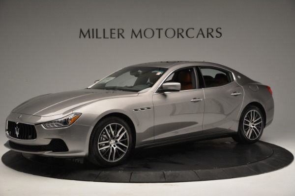 Used 2017 Maserati Ghibli S Q4 EX-LOANER for sale Sold at Rolls-Royce Motor Cars Greenwich in Greenwich CT 06830 2