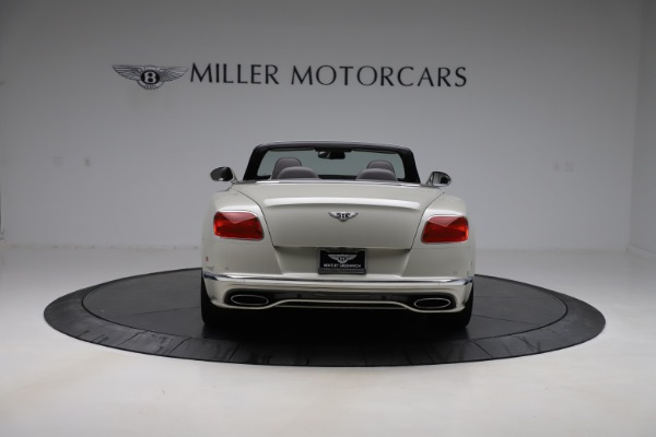 Used 2016 Bentley Continental GTC Speed for sale Sold at Rolls-Royce Motor Cars Greenwich in Greenwich CT 06830 6
