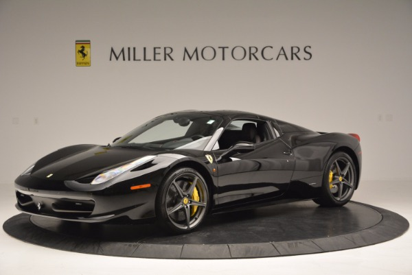 Used 2014 Ferrari 458 Spider for sale Sold at Rolls-Royce Motor Cars Greenwich in Greenwich CT 06830 14