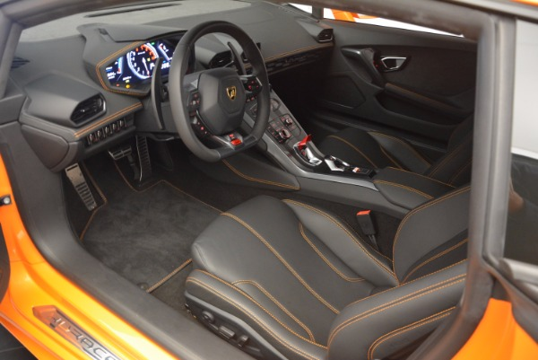Used 2015 Lamborghini Huracan LP 610-4 for sale Sold at Rolls-Royce Motor Cars Greenwich in Greenwich CT 06830 13