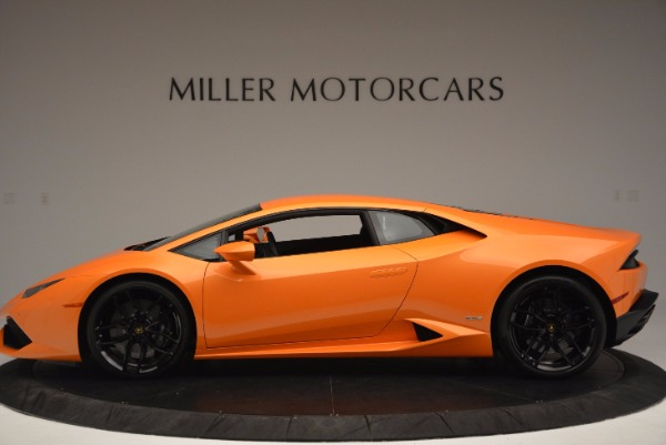 Used 2015 Lamborghini Huracan LP 610-4 for sale Sold at Rolls-Royce Motor Cars Greenwich in Greenwich CT 06830 3