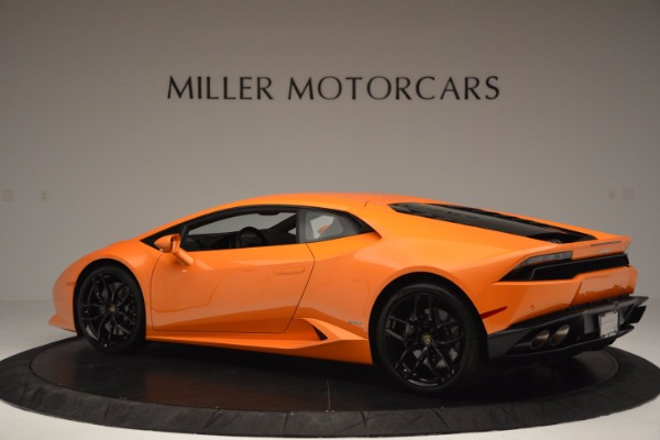 Used 2015 Lamborghini Huracan LP 610-4 for sale Sold at Rolls-Royce Motor Cars Greenwich in Greenwich CT 06830 4