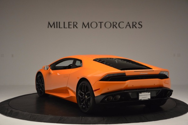 Used 2015 Lamborghini Huracan LP 610-4 for sale Sold at Rolls-Royce Motor Cars Greenwich in Greenwich CT 06830 5
