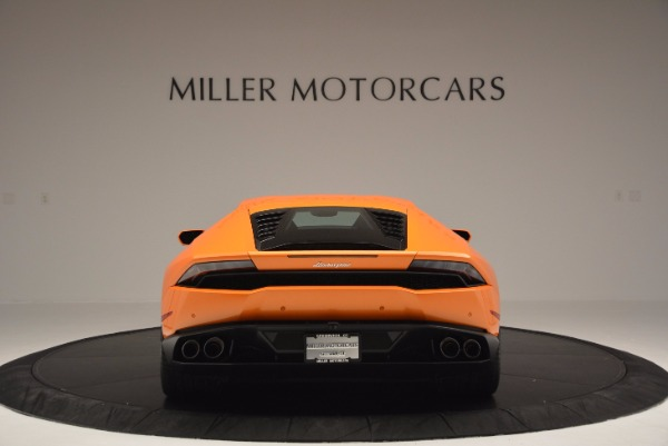 Used 2015 Lamborghini Huracan LP 610-4 for sale Sold at Rolls-Royce Motor Cars Greenwich in Greenwich CT 06830 6