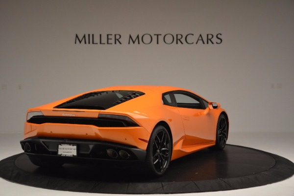 Used 2015 Lamborghini Huracan LP 610-4 for sale Sold at Rolls-Royce Motor Cars Greenwich in Greenwich CT 06830 7