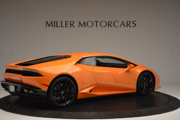 Used 2015 Lamborghini Huracan LP 610-4 for sale Sold at Rolls-Royce Motor Cars Greenwich in Greenwich CT 06830 8