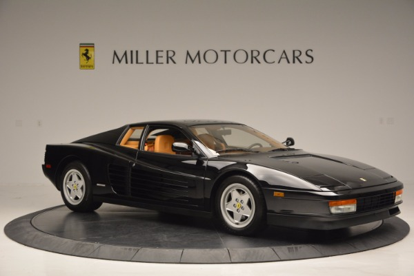 Used 1989 Ferrari Testarossa for sale Sold at Rolls-Royce Motor Cars Greenwich in Greenwich CT 06830 10