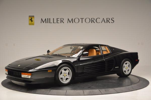 Used 1989 Ferrari Testarossa for sale Sold at Rolls-Royce Motor Cars Greenwich in Greenwich CT 06830 2