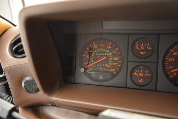 Used 1989 Ferrari Testarossa for sale Sold at Rolls-Royce Motor Cars Greenwich in Greenwich CT 06830 20