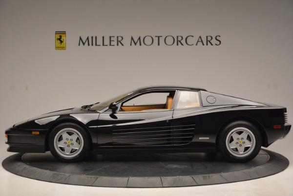 Used 1989 Ferrari Testarossa for sale Sold at Rolls-Royce Motor Cars Greenwich in Greenwich CT 06830 3