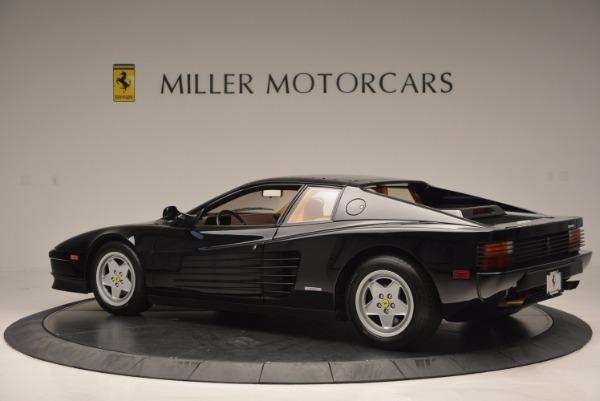 Used 1989 Ferrari Testarossa for sale Sold at Rolls-Royce Motor Cars Greenwich in Greenwich CT 06830 4