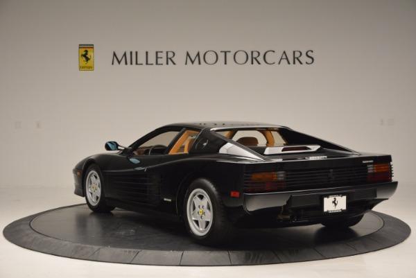 Used 1989 Ferrari Testarossa for sale Sold at Rolls-Royce Motor Cars Greenwich in Greenwich CT 06830 5