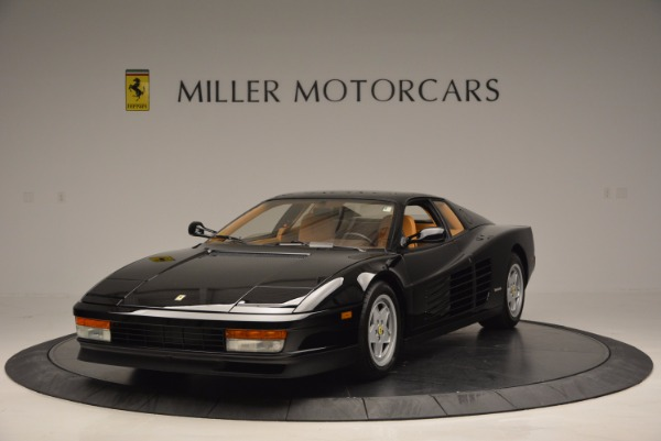Used 1989 Ferrari Testarossa for sale Sold at Rolls-Royce Motor Cars Greenwich in Greenwich CT 06830 1