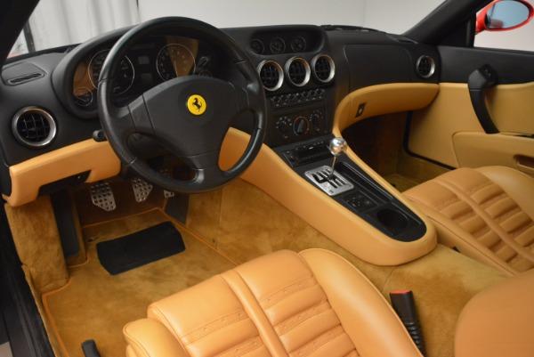 Used 2000 Ferrari 550 Maranello for sale Sold at Rolls-Royce Motor Cars Greenwich in Greenwich CT 06830 13